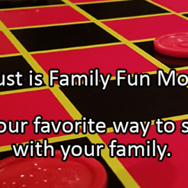 Writing Prompt for August 5: Family Fun