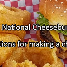 Writing Prompt for September 18: Cheeseburger