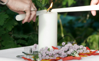 unity candle ceremony new jersey