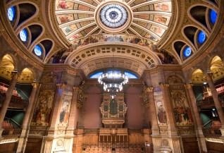Forth Pipe Organs, McEwan Hall, Edinburgh, Copyright Lunaria.co.uk