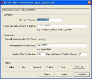 Configuring FSSO TS Agent For Citrix