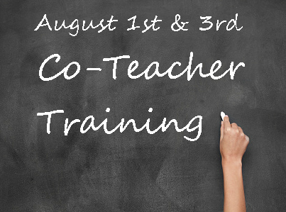 All Parent Co-Teacher Training