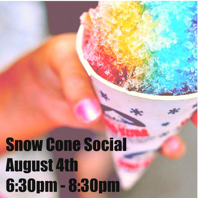 Fortis Snow Cone Social