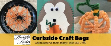 Curbside craft bags