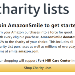 Amazon Smile donation TO FMCC
