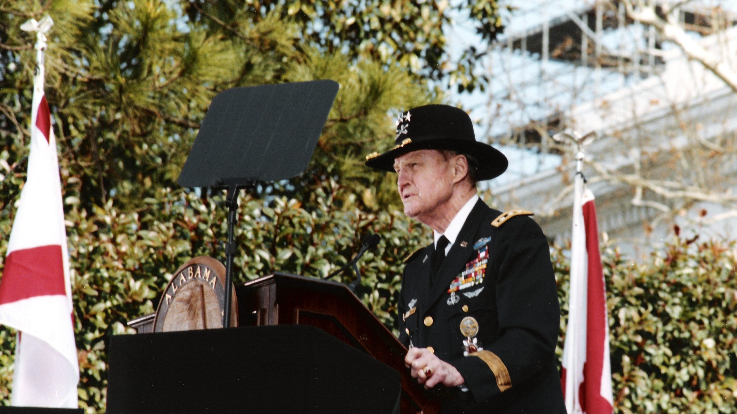 Hal Moore at the Alabama Governor Inauguration