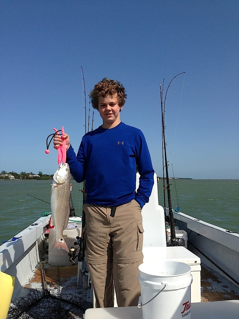 Fort myers 3 25 13 fort myers fishing report redfish for Fort myers fishing