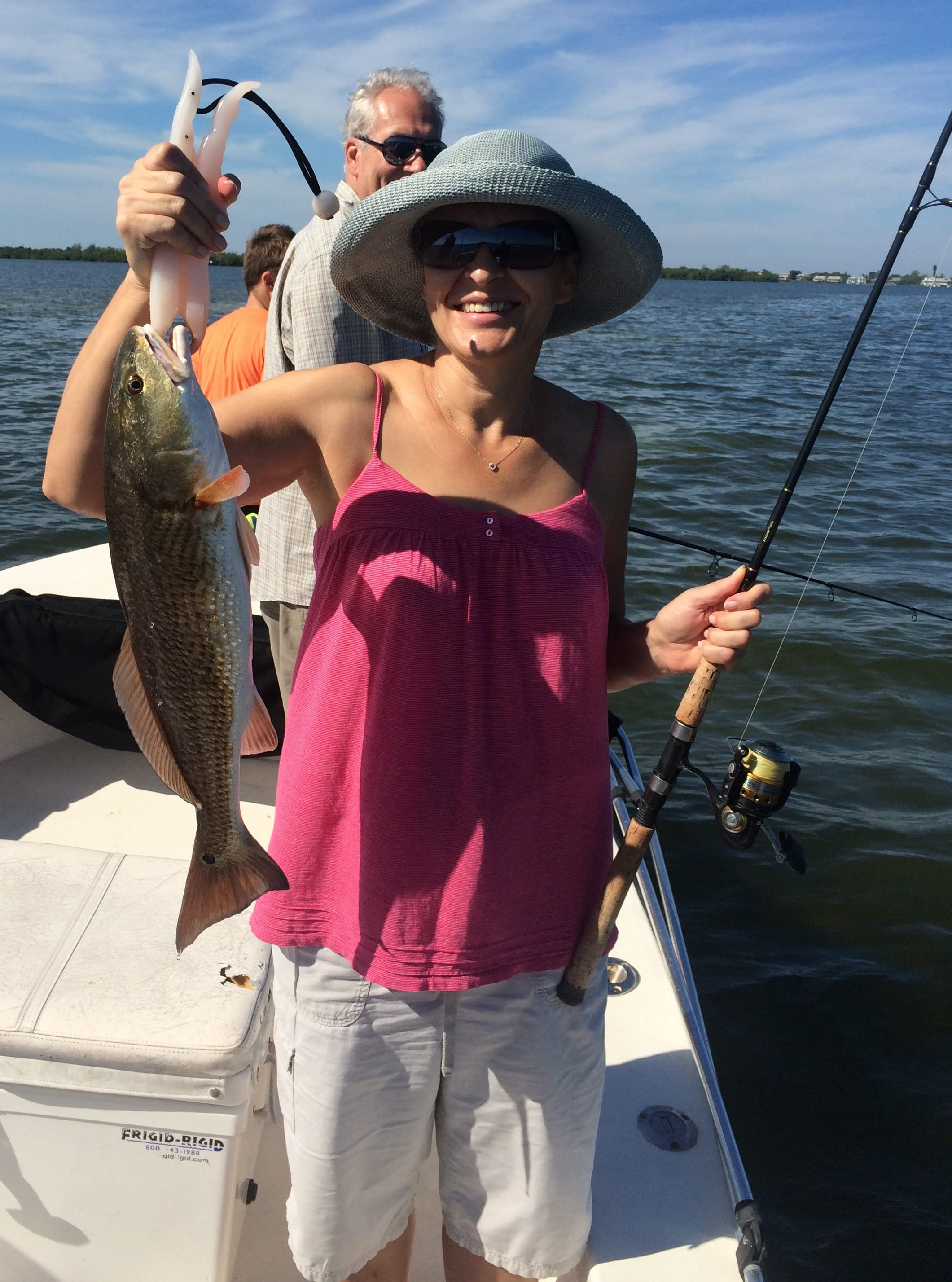 Fort myers fishing report 10 25 14 more redfish for Ft myers fishing report