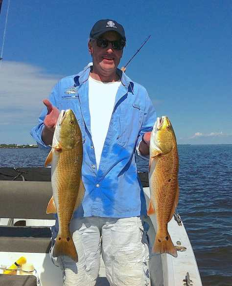 Fort Myers Fishing Report, Monday, 8/31/15: Two Redfish ~ #FortMyers.