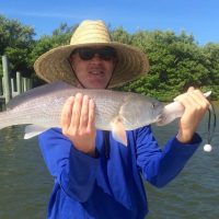 Fort Myers Fishing, Redfish, September 24, 2016.
