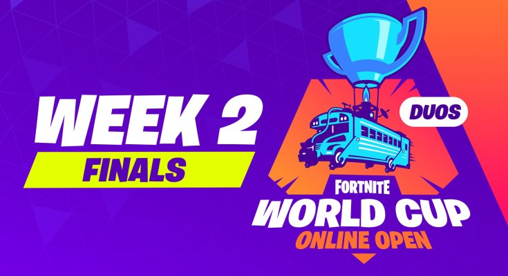 Fortnite World Cup Week 2 duo Finals