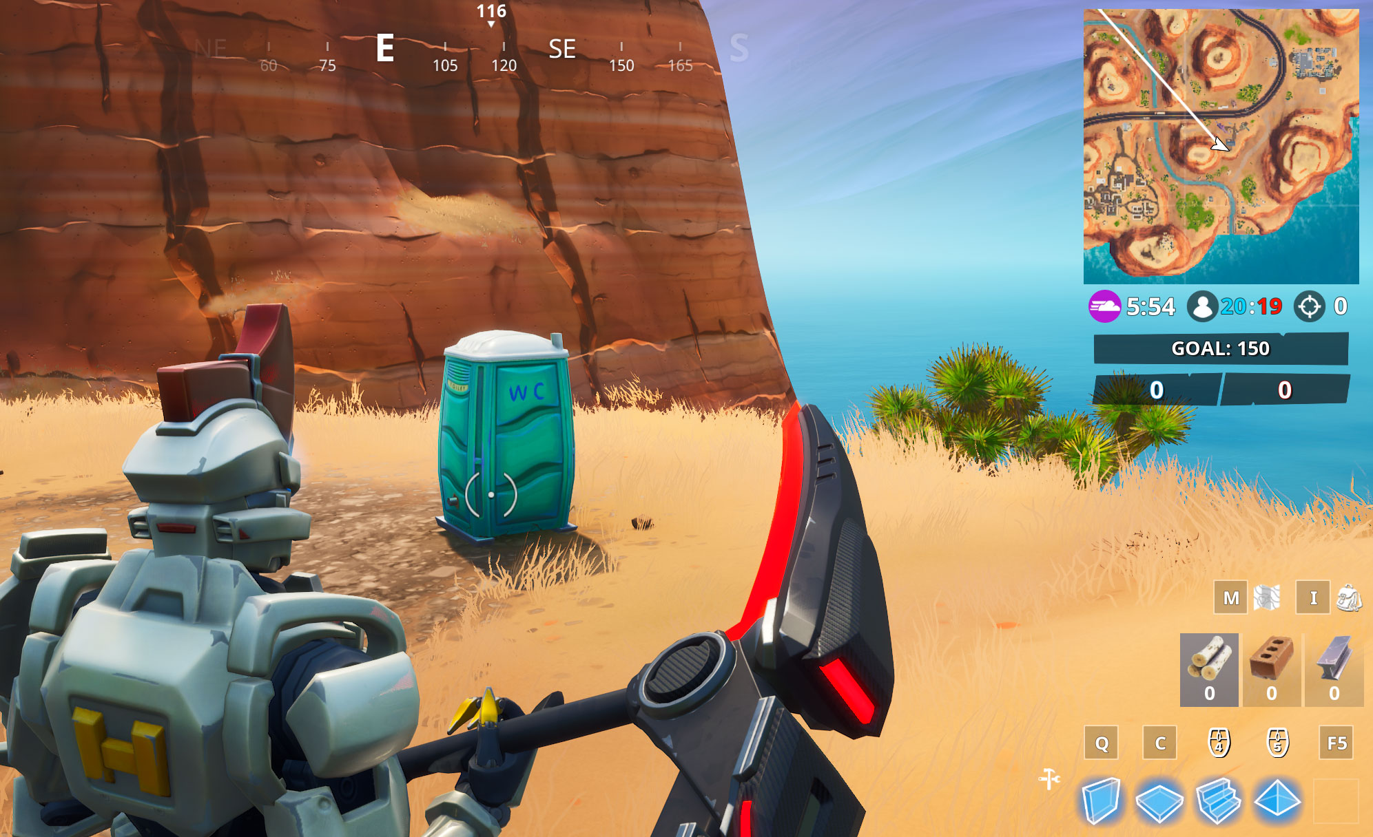 Fortnite Fortbyte 13 Guide: Where To Find 'Found At A Hidden