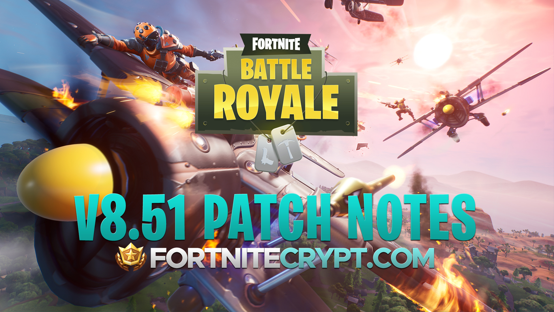 Fortnite Battle Royale V8 51 Patch Notes Shadow Bomb Bug Fixes