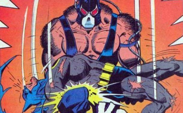 bane breaks batman back