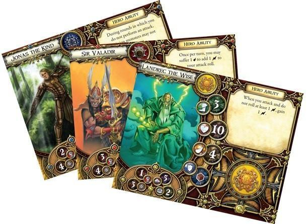 Descent Journeys 2nd Edition - Cards