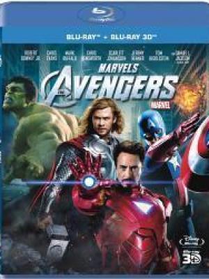 Avengers Blu Ray + Blu Ray 3D