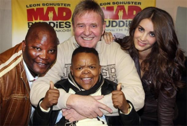 Leon Schuster interview mad buddies oh schucks