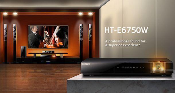 Samsung HT-E6750W - Header