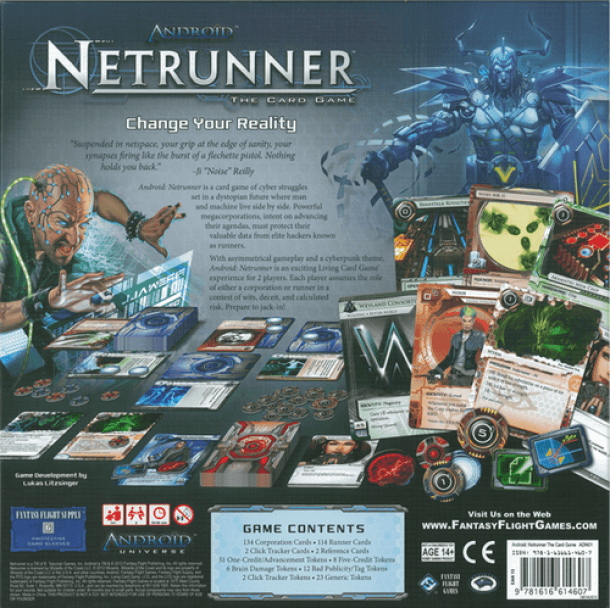 netrunner board game review