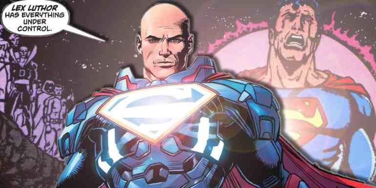 Lex Luthor - History