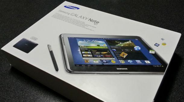 Samsung Galaxy Note 10.1 - Box