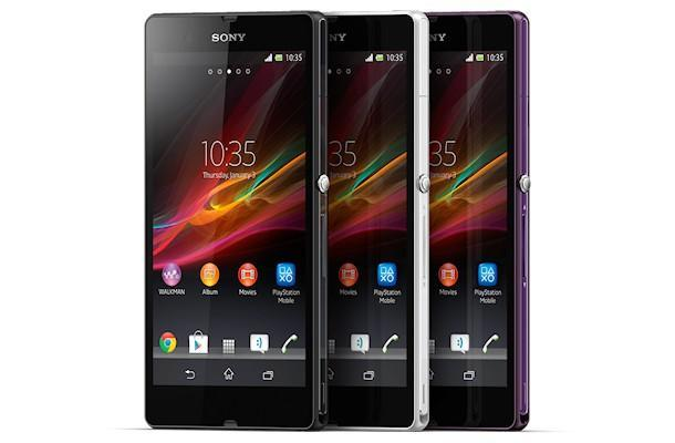 Sony Xperia Z - Colours