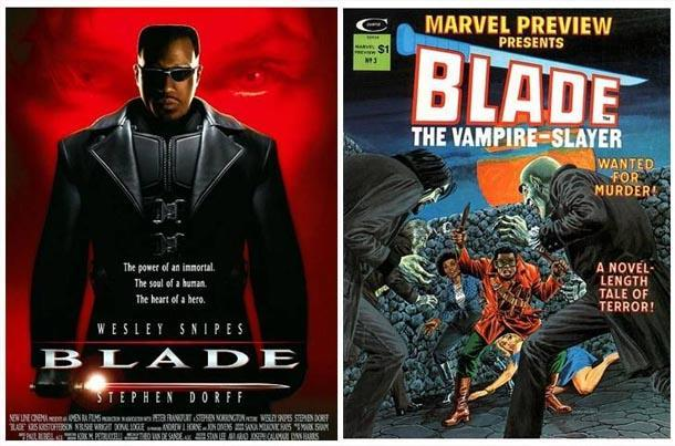 blade comic book film