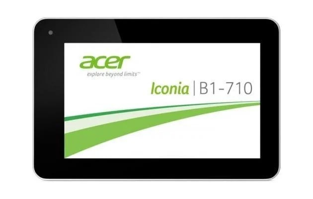 Acer Iconia B1 - Header