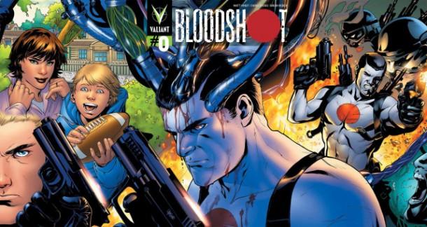 Bloodshot #0 comic review