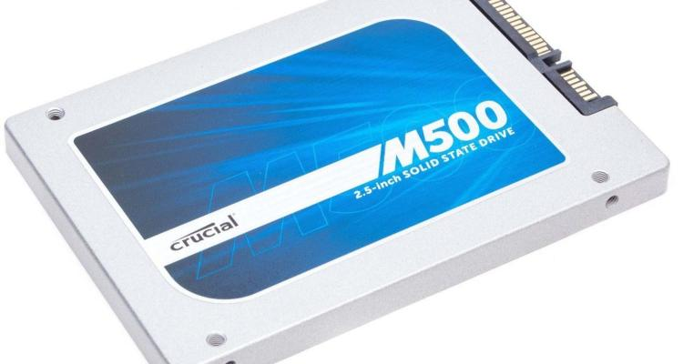 Crucial M500 480GB solid state drive