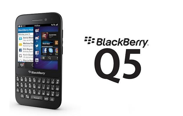BlackBerry Q5 - Header
