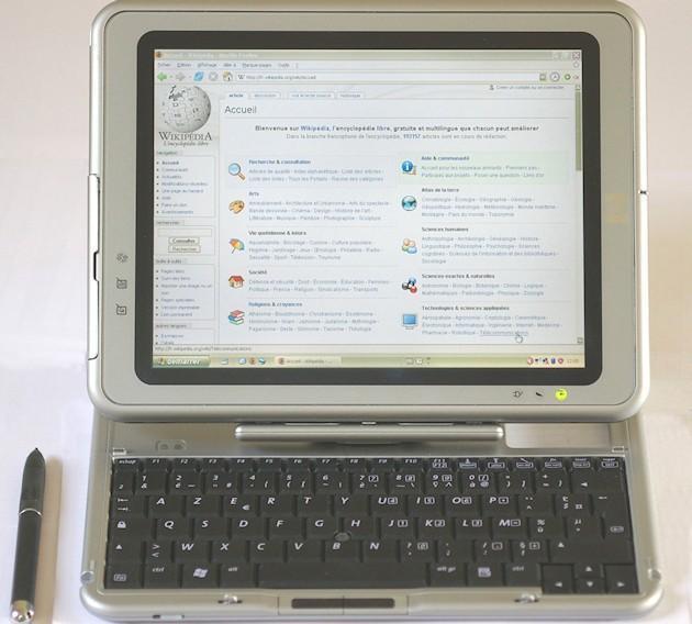 Origins of Control-Alt-Delete - HP Compaq TC1000
