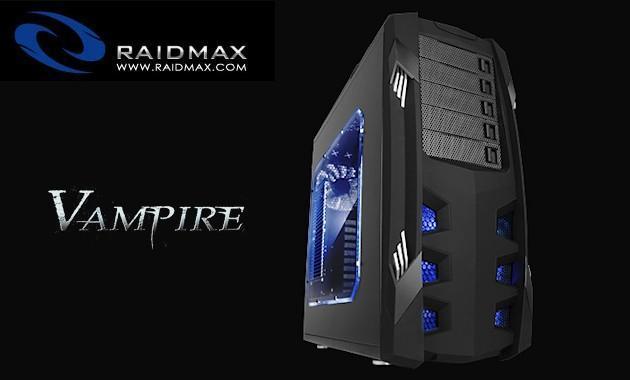 Raidmax Vampire Case - Header