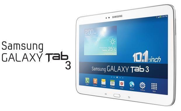 Samsung Galaxy Tab 3 10.1 - Header