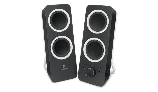Logitech Z200 Speakers - Black