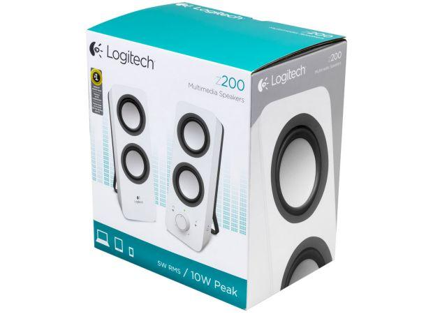 Logitech Z200 Speakers - Box
