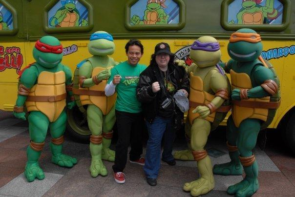Michele Ivey at the 25 Years of TMNT Tour