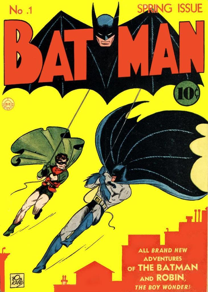 Batman #1 (1940) - The First Actual Batman-Titled Comic Book