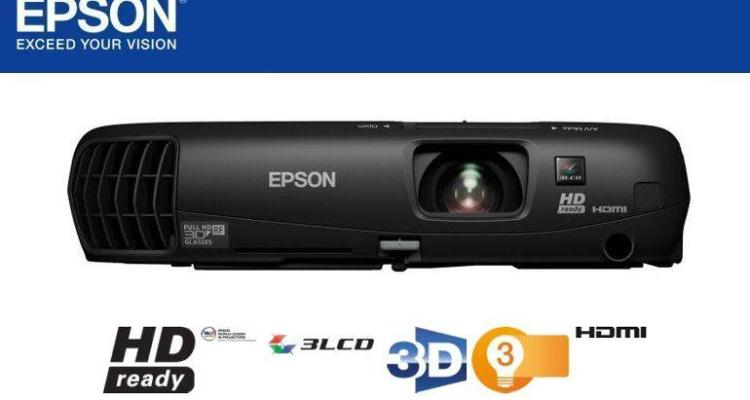 Epson TW550 Projector-Header