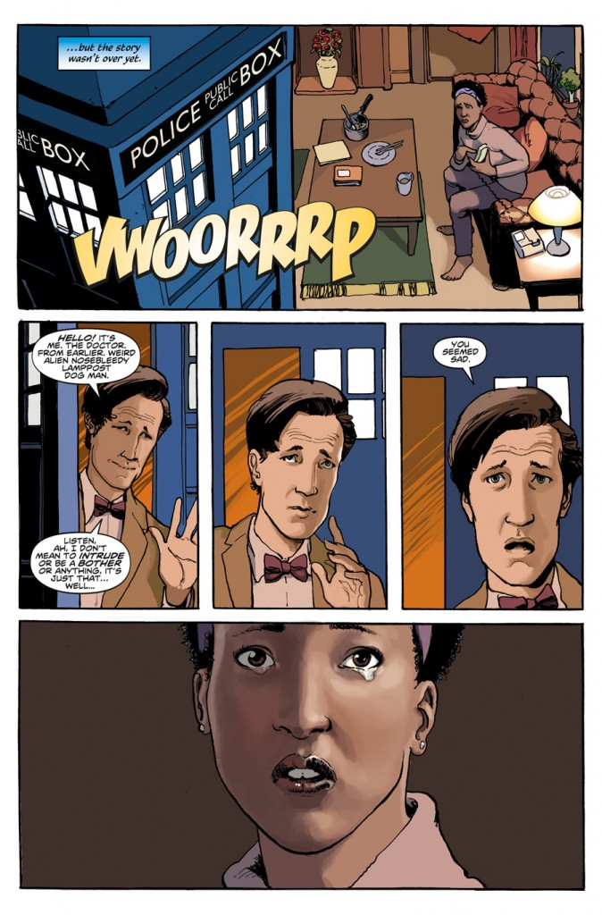 Doctor Who New Adventures with the Eleventh Doctor #1-3 Review