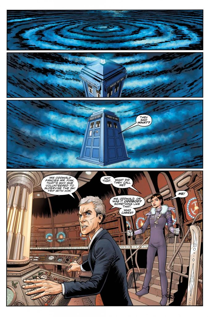 dr who comic book