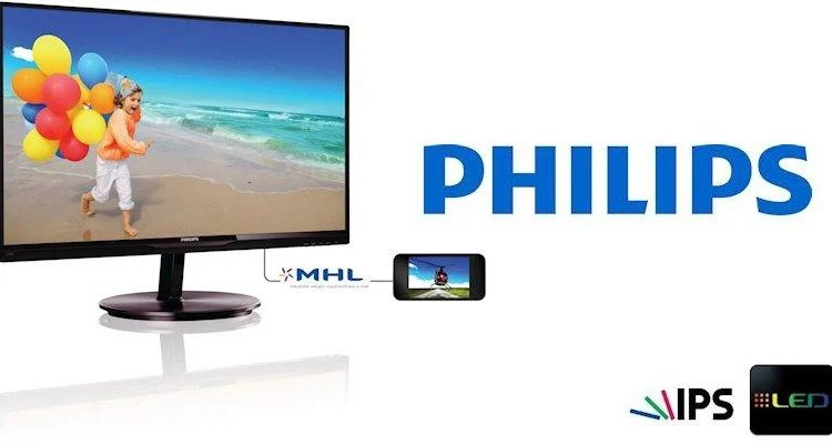 Philips E-Line 234E5-Header