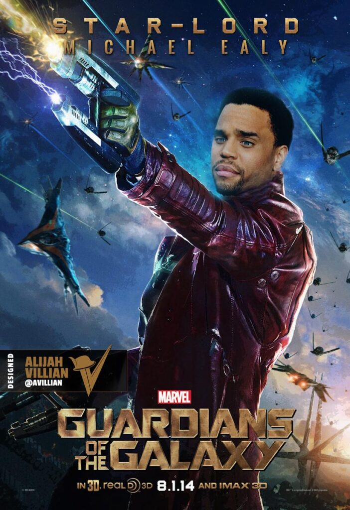 Michael Ealy Guardians of The Galaxy Star LordMichael Ealy Guardians of The Galaxy Star Lord