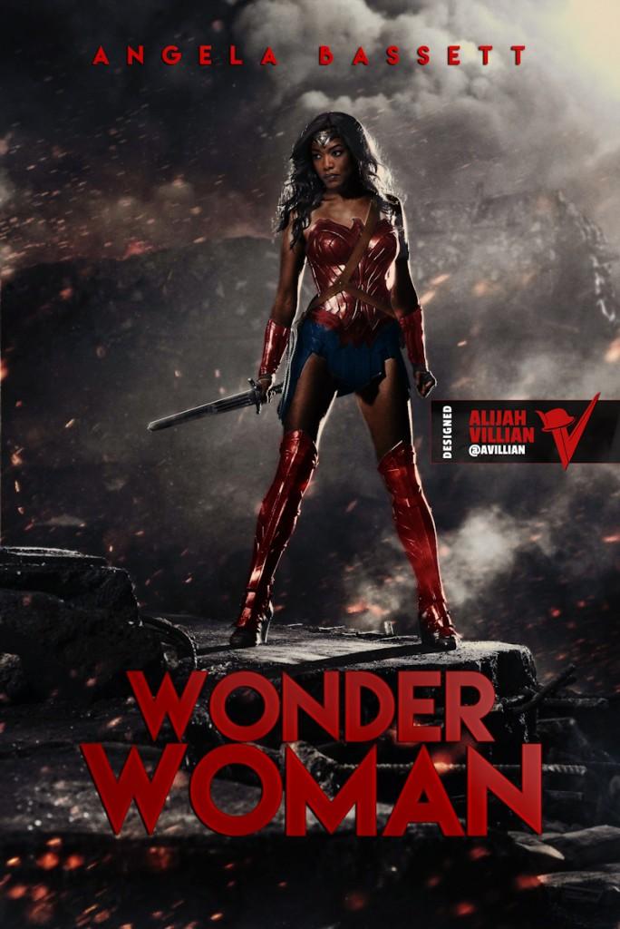 Wonder Woman Angela Basset