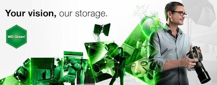 WD Green 2TB HDD - Header