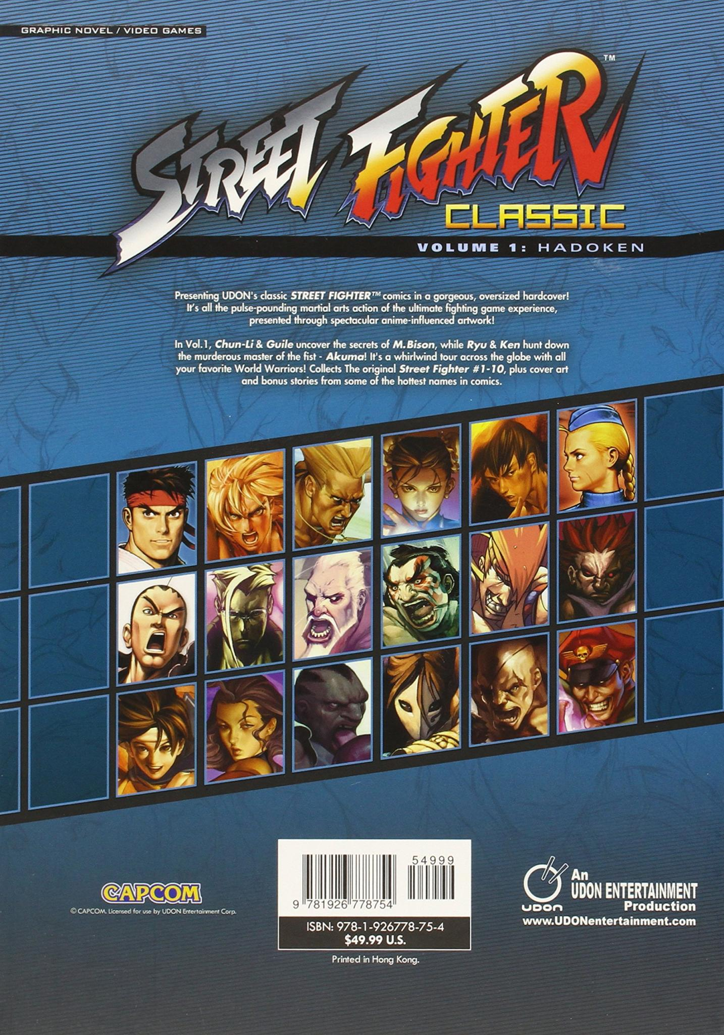 STREET FIGHTER CLASSIC VOLUME 1 HADOKEN review