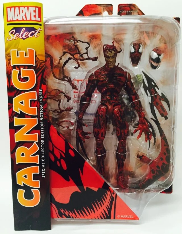 Marvel Select Carnage Figure Boxing