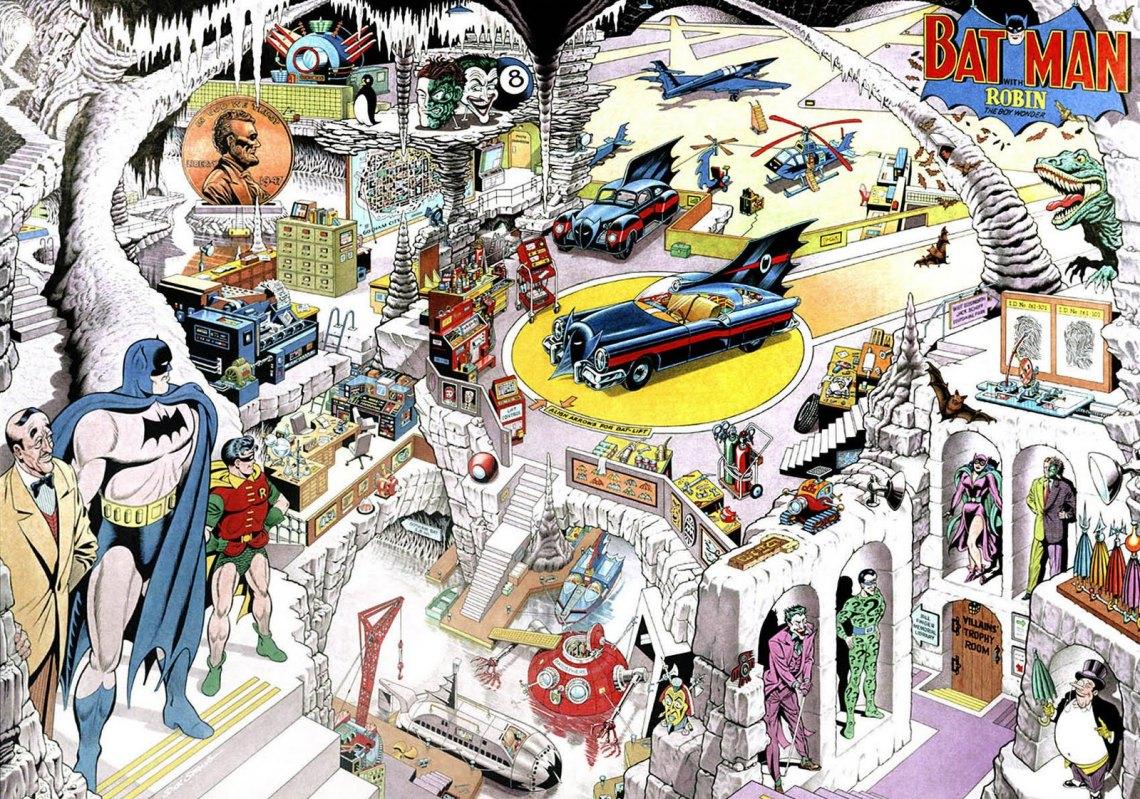 Secrets-of-the-Batcave-Lithograph-1995