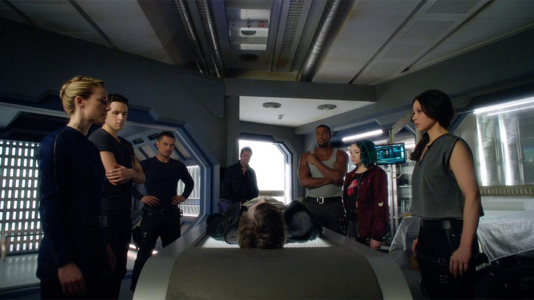dark matter sci-fi tv review