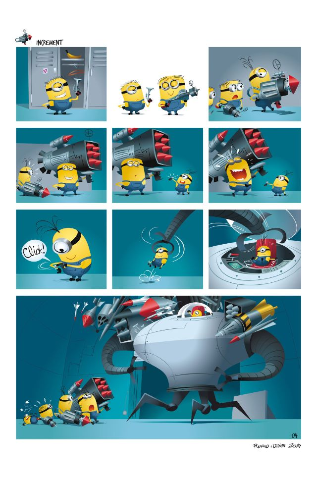 minions #2 comic books review